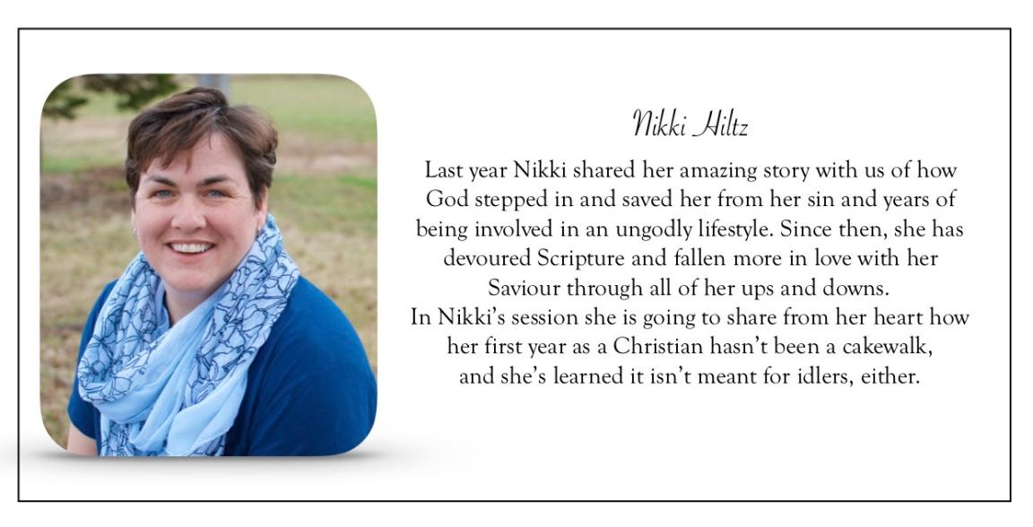 VWEC Nikki bio